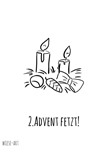 postkarte 2 advent fetzt